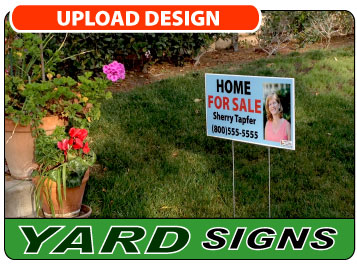 Upload Your Custom Yard/Lawn Sign Design