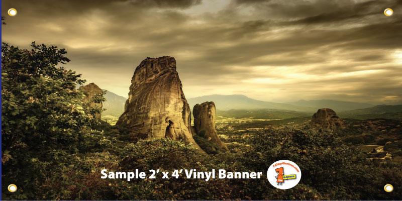 2x4 Banner