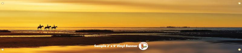 2x9 Banner