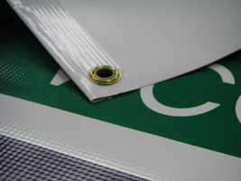 Vinyl Banner with Hemming